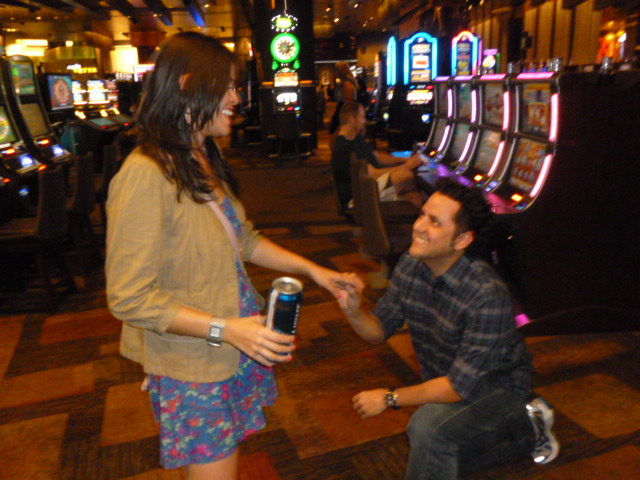 The Proposal at Aria