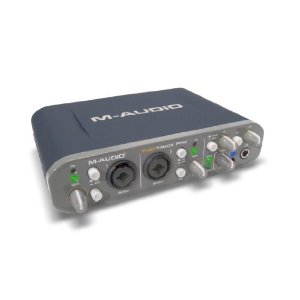 M-Audio FastTrack Pro 4x4 Mobile USB Audio MIDI Interface