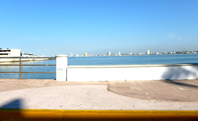 Malecon in Mazatlan