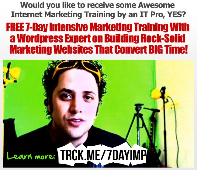 Click here to join the 7-Day Internet Marketing Plan
