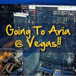 Going to Aria at Las Vegas