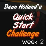 dean holland quick start challenge week two