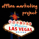 las vegas offline marketing project